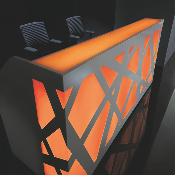 Zig Zag reception desk